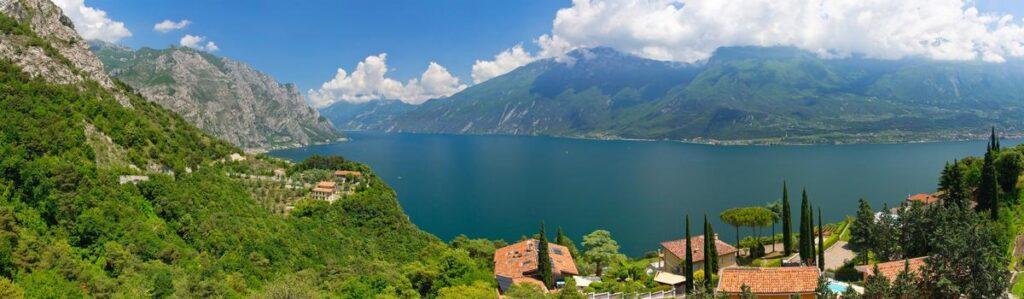 Gardasee Limone Panorama