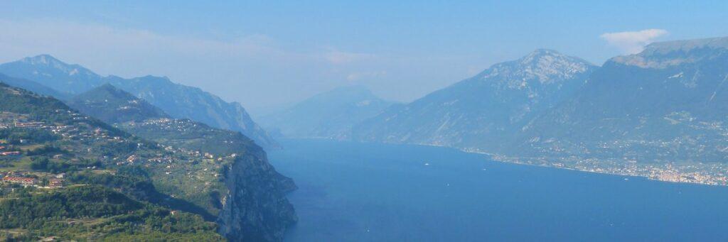 Gardasee Blick von oben