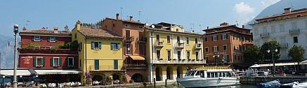 Malcesine Hafen, östlicher Gardasee