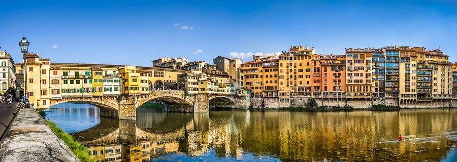 Florenz - Ponte Vecchio, Toskana