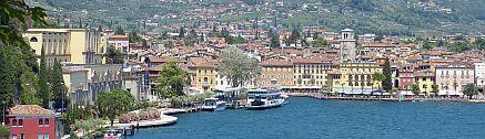 Hafen von Riva, Trentino, Gardasee