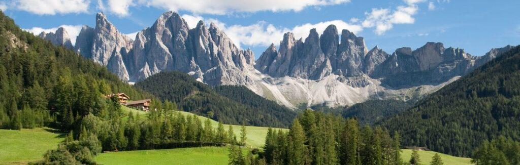 Berge in Südtirol - Villnoss